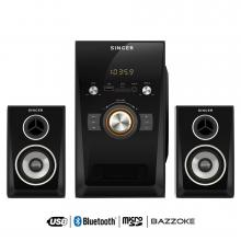 Singer Mini Hi Fi Systems With Bluetooth 80 WRMS