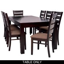 Avalon Dining Room Suit - 8 Seater Table Only
