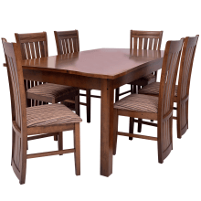Clayton Dining Room Suit - 6 Seater