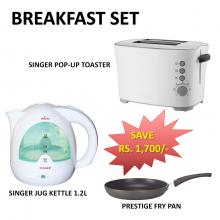 Singer Breakfast Set (Save Rs. 1700/-)
