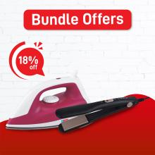 Unic Iron + Singer Hair Straightener (18% Off)