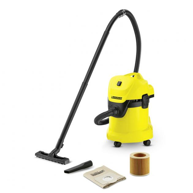 Karcher Wet And Dry Vacuum Cleaner, 1000W, 17L