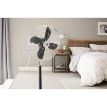 Swan Retro 16 Inch Stand Fan (Black)